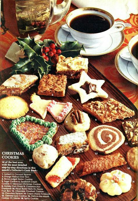Old fashioned christmas food 10