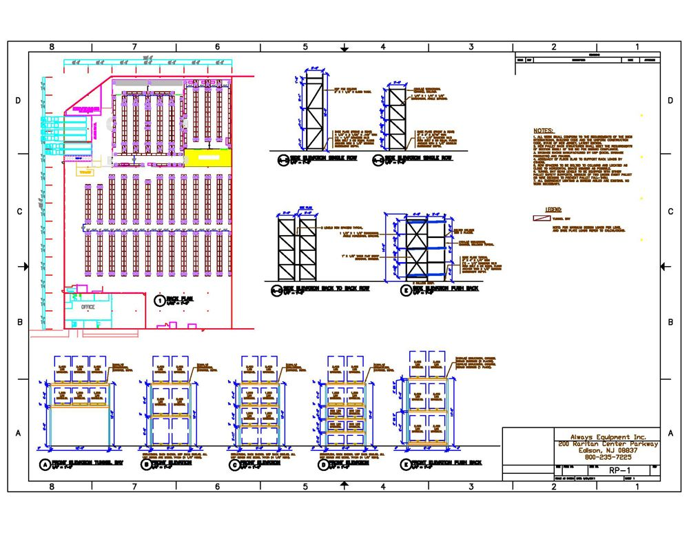 Free Warehouse Distribution Center Layout Design Warehouse Plan Warehouse Design Layout