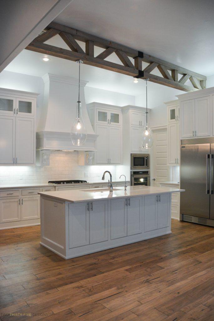 Simple White Kitchen Home Tour  cook  Home decor