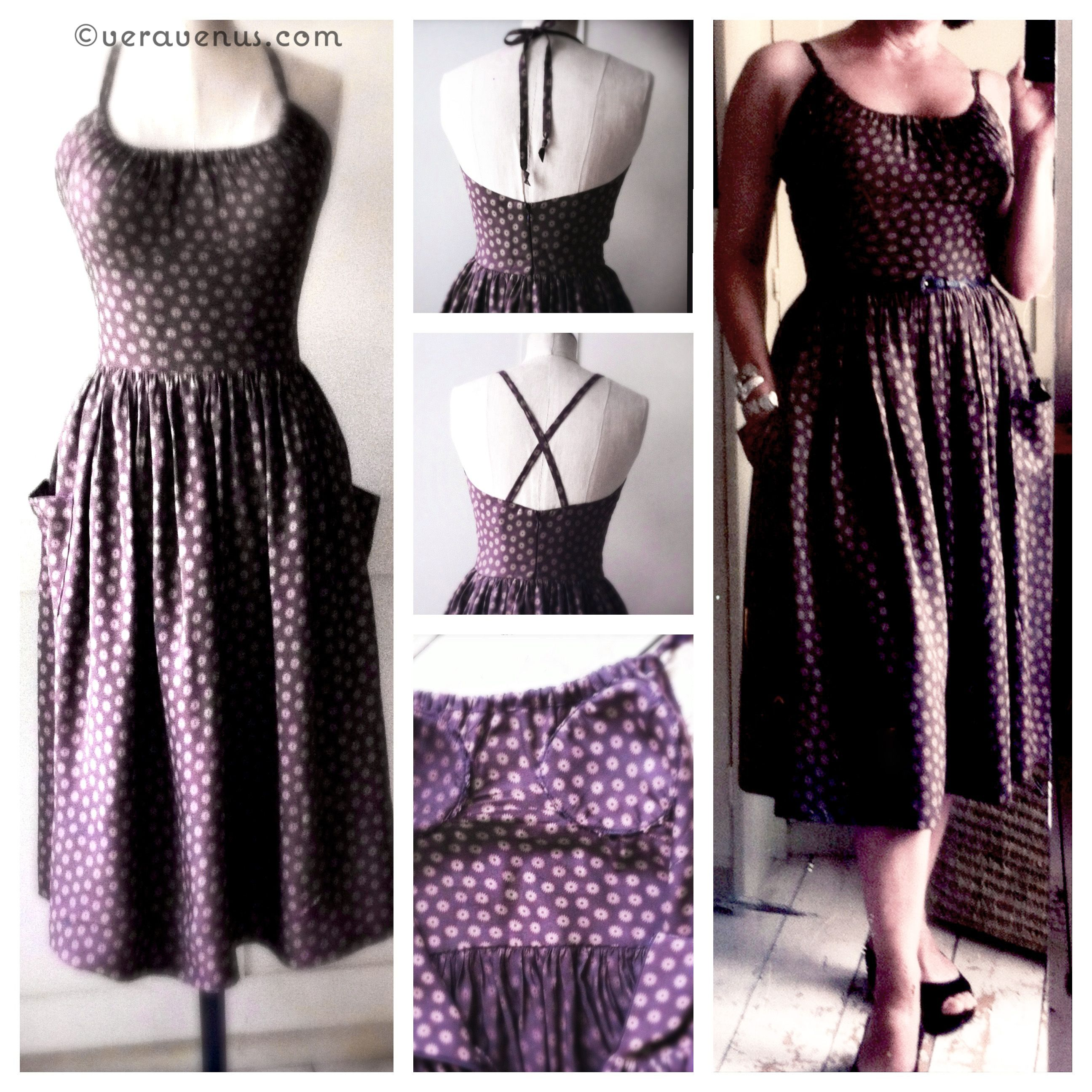 Vintage Styled Sundress Pattern - I made this dress and it is so ...