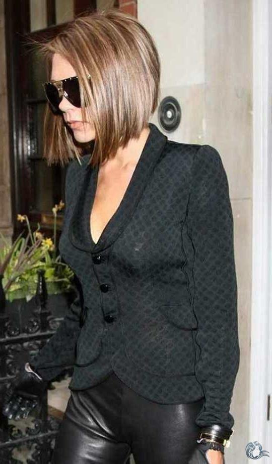 Neue Victoria Beckham Bob Haar Trend - -  Neue Victoria Beckham Bob Haar Trend  - #Beckham #Bob #EmmaRoberts #FashionDesigners #haar #Neue #ShilpaShetty #Trend #Victoria #VictoriaBeckham