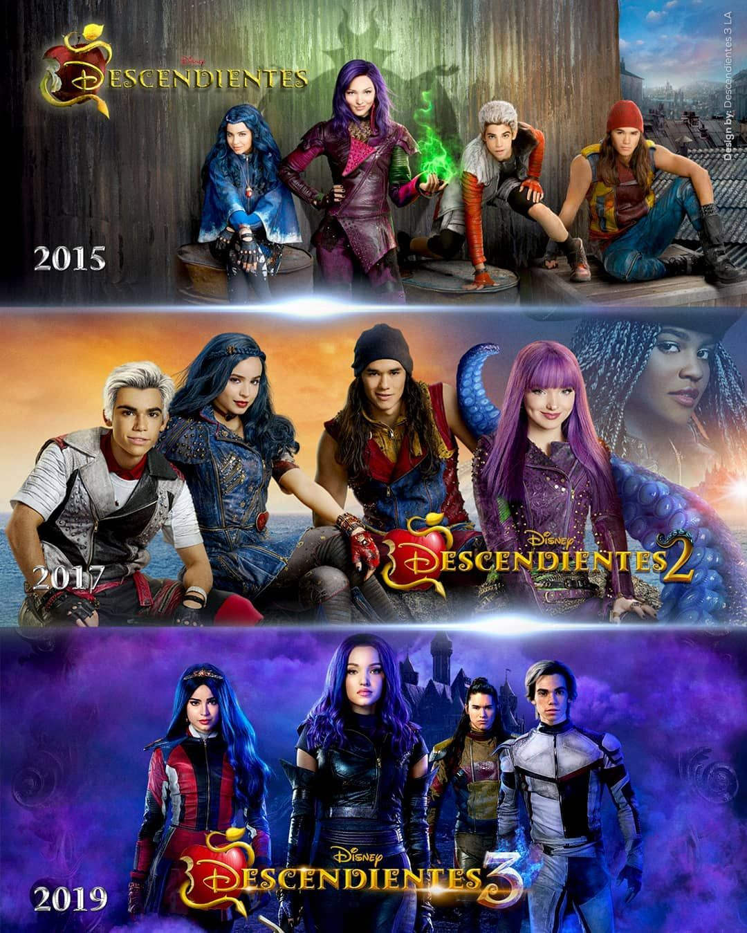 Disney Descendants 1 2