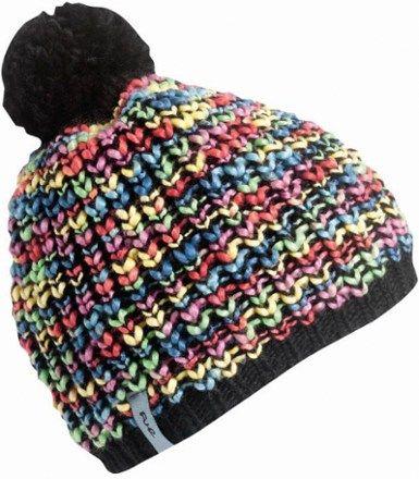b3adbcad435 Turtle Fur Zola Girls Chunky Hand Knit Fleece Lined Pom Winter Hat