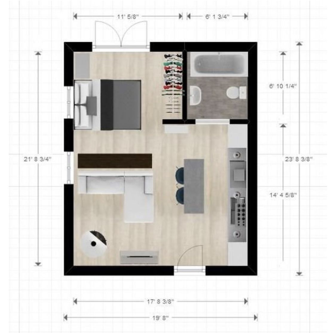 Studio Layout Studio Floor Plans Studio Apartment Floor Plans Apartment Layout