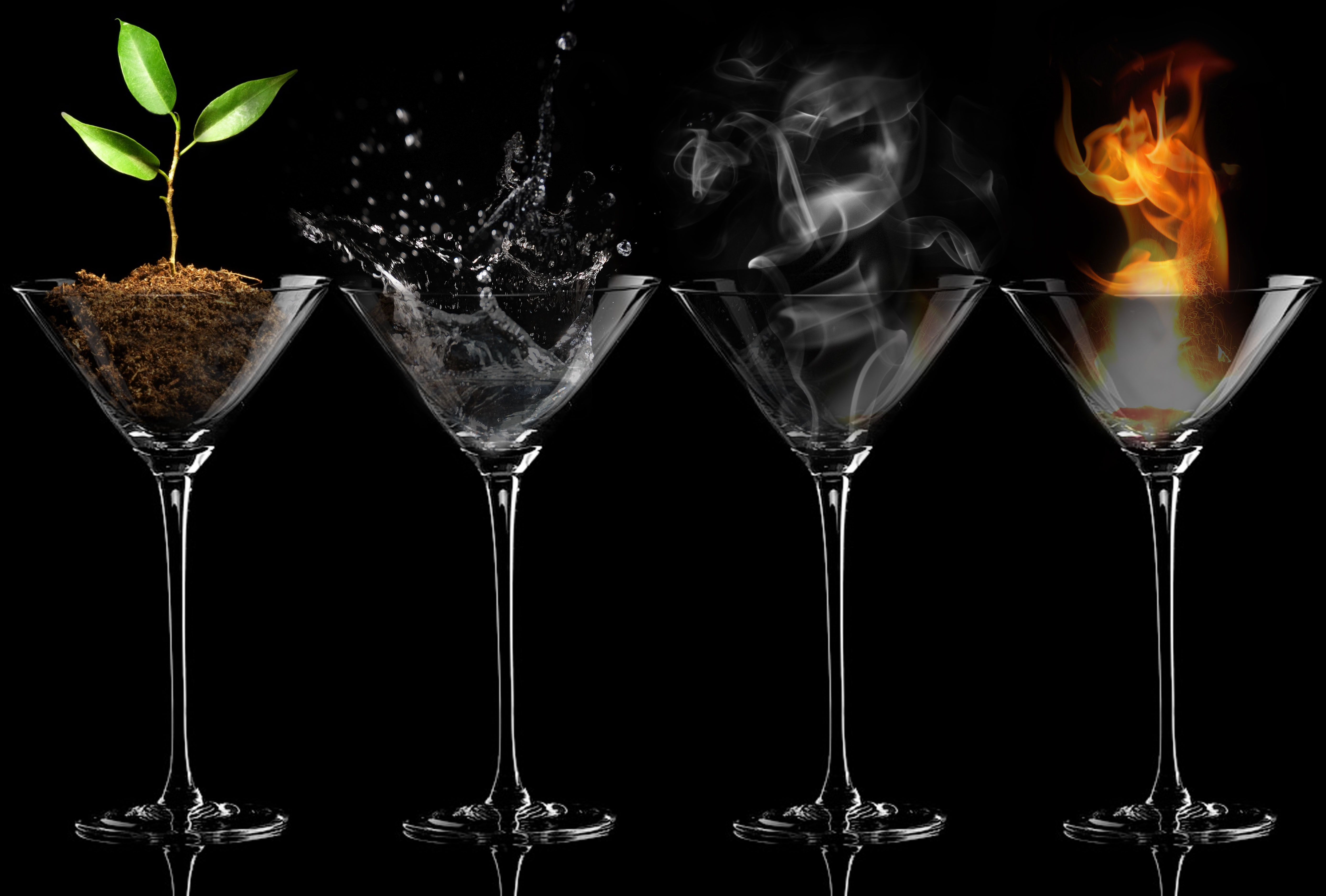 5 Awesome Earth Water Fire Air Elements Wallpapers Elements