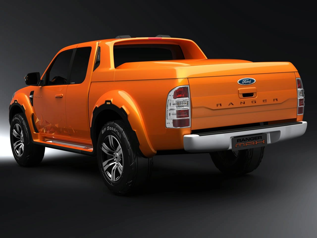 2008 Ford Ranger Max Concept Ford Ranger Max 2008 Concept Ford