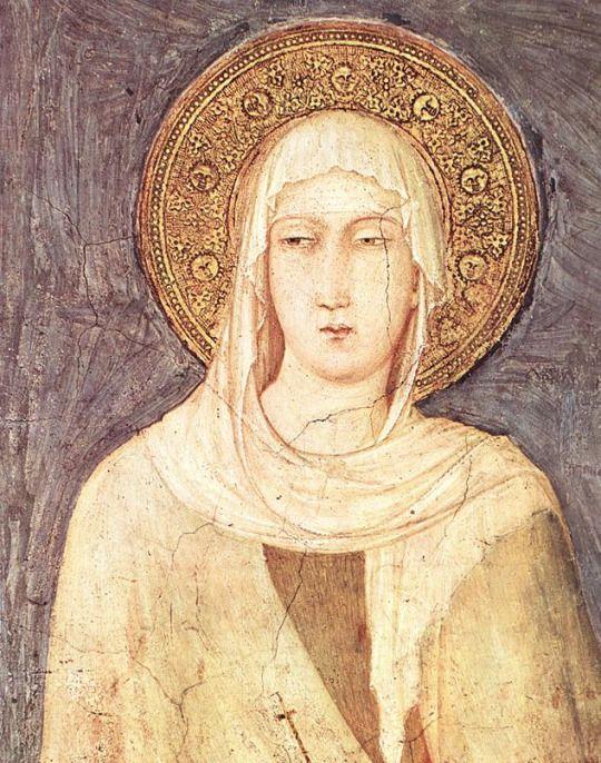Simone Martini, St. Margaret (detail), 1320-25