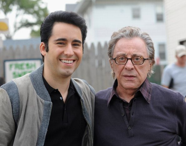 john lloyd young and frankie valli i love this picture