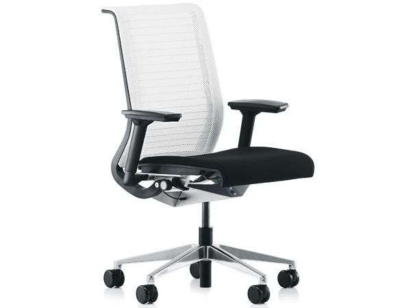 Steelcase Think Chair With 3D Knit Back *sigh* My Dream Office Chair ... At  A Not So Dreamy $770... | Steelcase | Pinterest | Office Designs