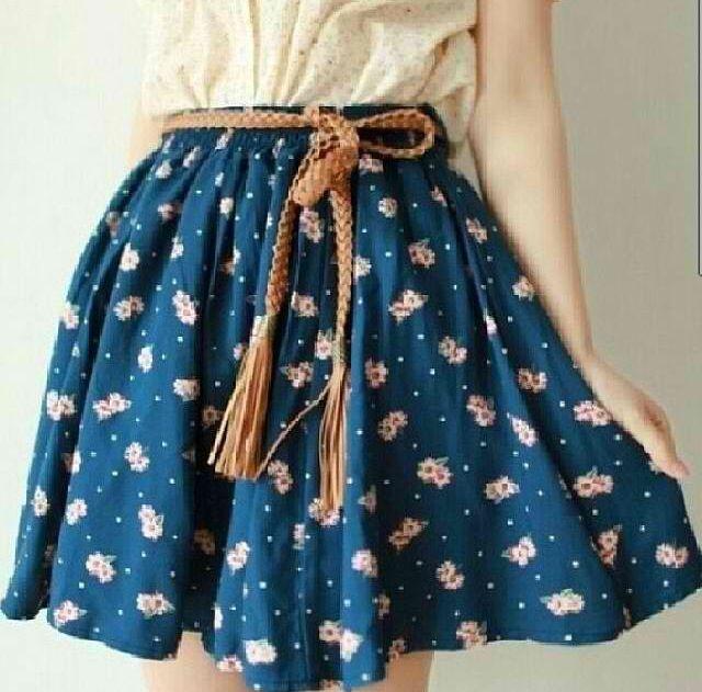 Cute skirt for spring
