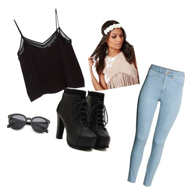 Diva by jordanfashion14 on Polyvore featuring polyvore, fashion, style, MANGO and H&M