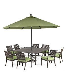 Madison Outdoor Patio Furniture Dining Sets U0026 Pieces   Furniture   Macyu0027s ( Patio Table Seats