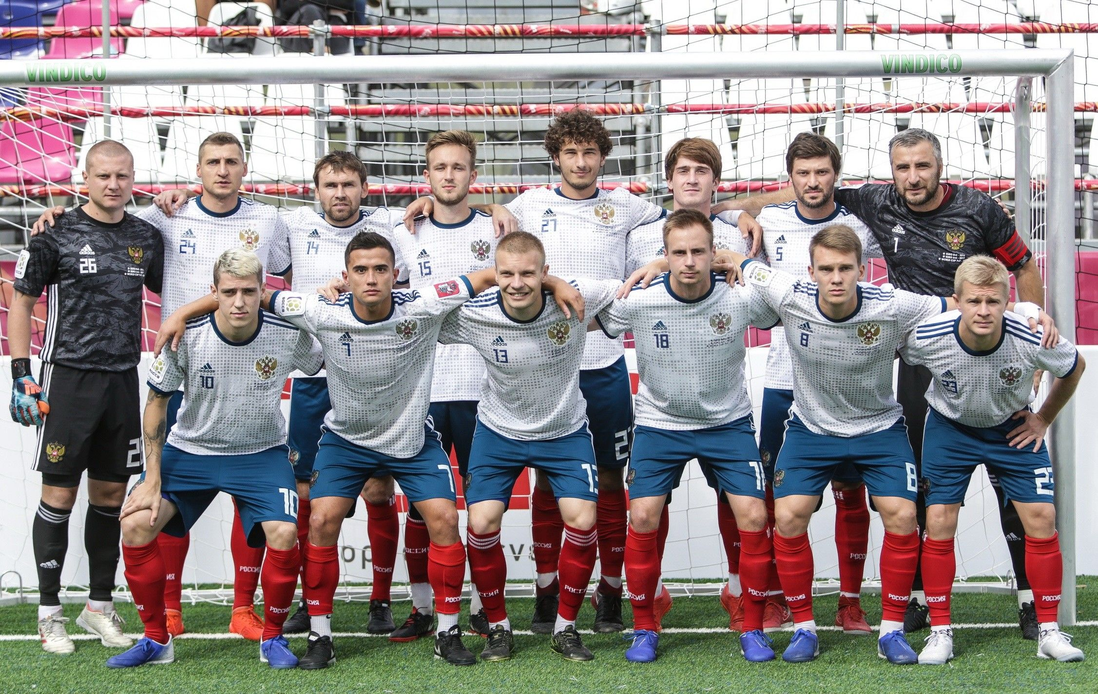 Footballers from Gazprom Transgaz Stavropol win world
