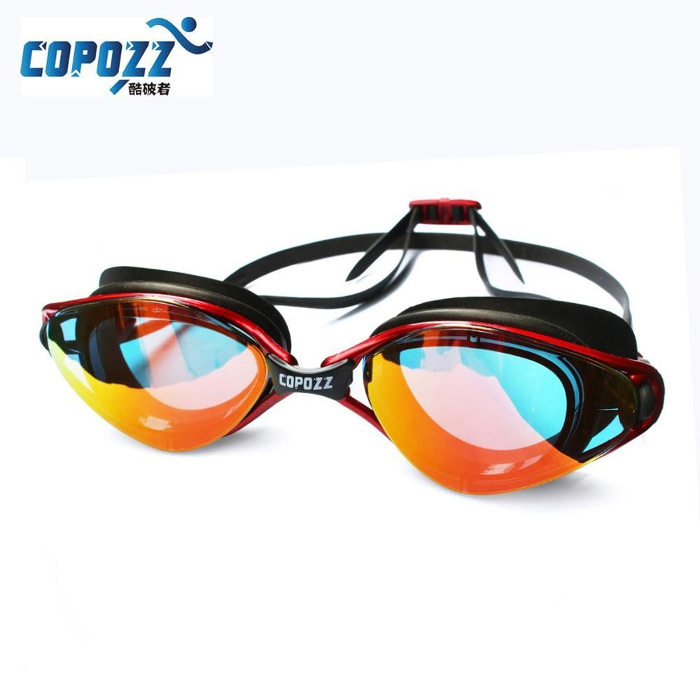 a73e71a36074 Swimming Goggles Adjustable men women Professional Anti-Fog Breaking ...