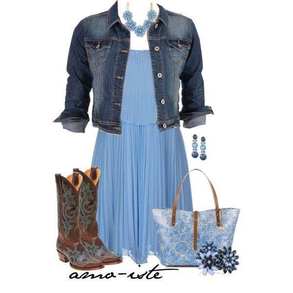 Women's apparel and fashion, Blue Belle