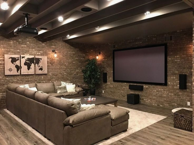 20+ Incredible Basement Remodel Ideas | Basements, Living Spaces And Spaces