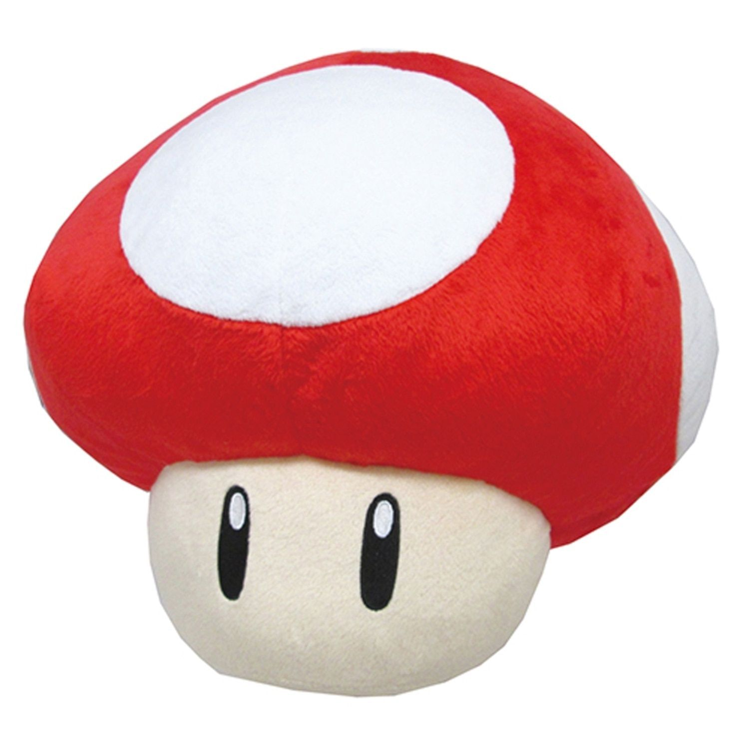 Nintendo Super Mario Super Mushroom Brown Pillow Mario Plush