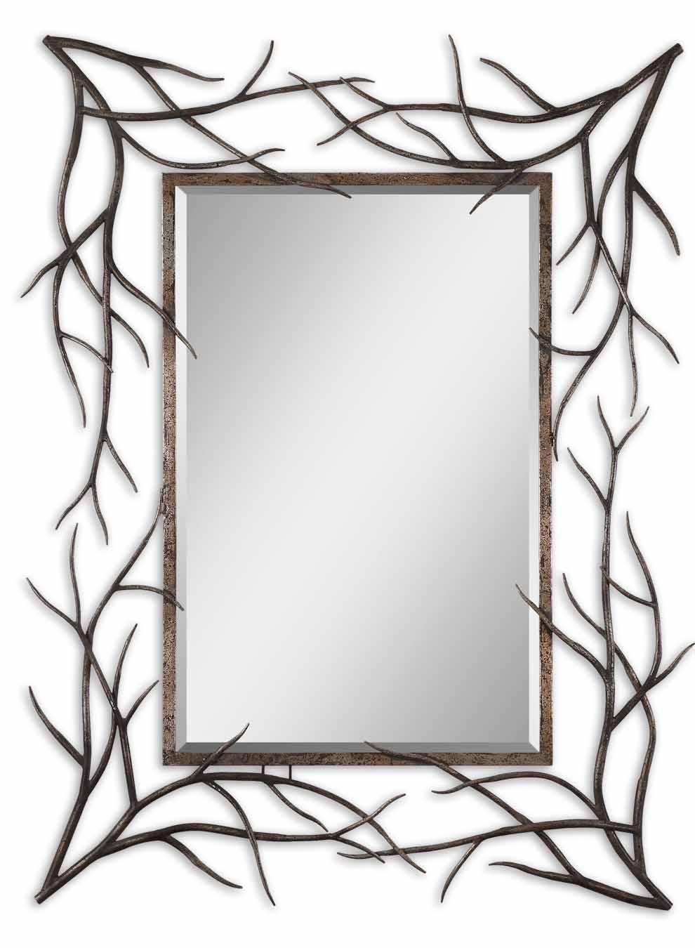 hand forged mirror frame home accents mirrors all mirrors uttermost share this page