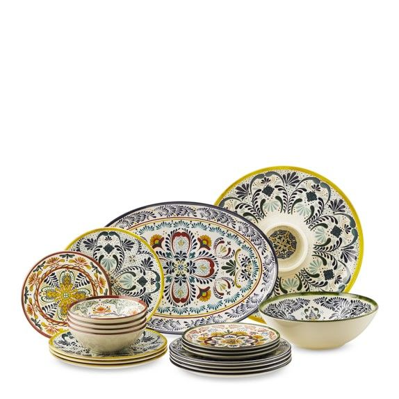 Veracruz Dinnerware Collection Outdoor Dinnerware Dinnerware