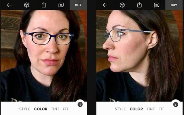 تطبيق جديد يسمح لك بتجربة النظارة قبل شرائها يسمح تطبيق جديد للهواتف الذكية بتجرب عملية للنظارات قبل شراءها من Topology Buy Glasses Glasses Fit