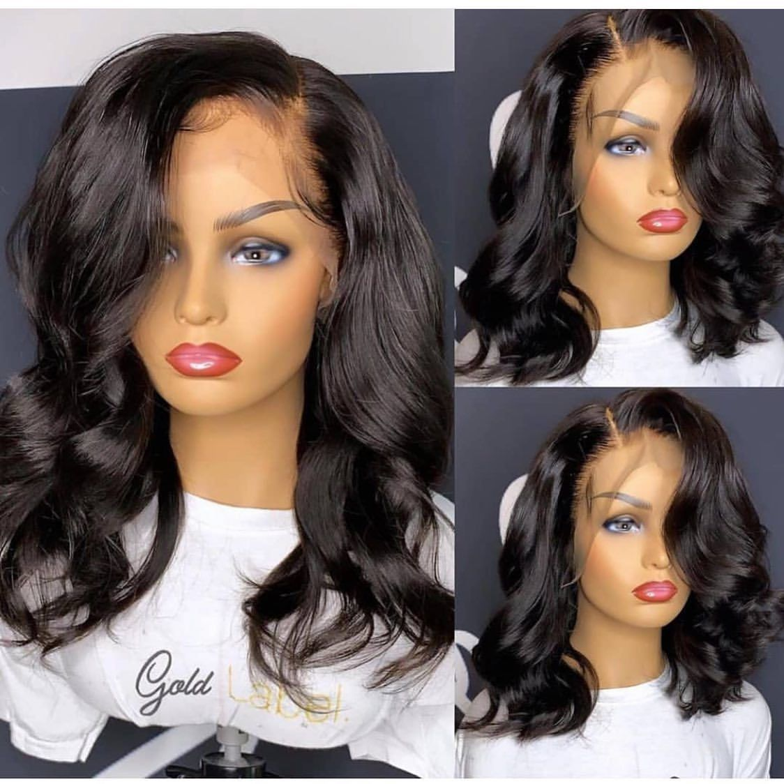 Pin on Body/Loose Wave wig