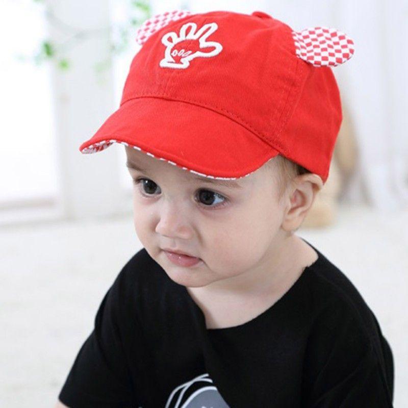 874fa53dd0d7e Baby Hats Summer Cotton Cute Casual Print Soft Eaves Baseball Cap Baby Boy  Girl Beret Baby Girls Sun Hat  Affiliate