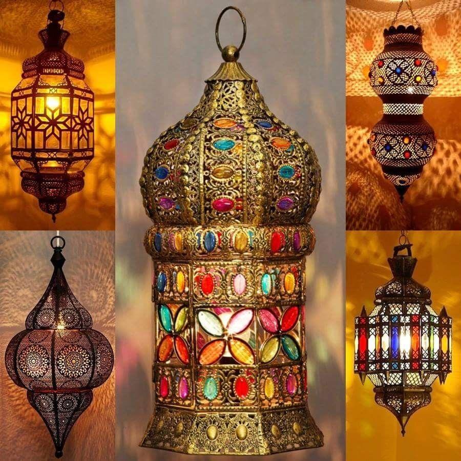 Charming Ideas Marokkanische Lampe Orientalische Ziczac: Orientalische Lampe Pendelleuchte Schwarz Malha 50cm E14