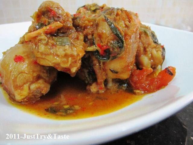 Resep Ayam Woku Belanga Resep Ayam Memasak Makanan