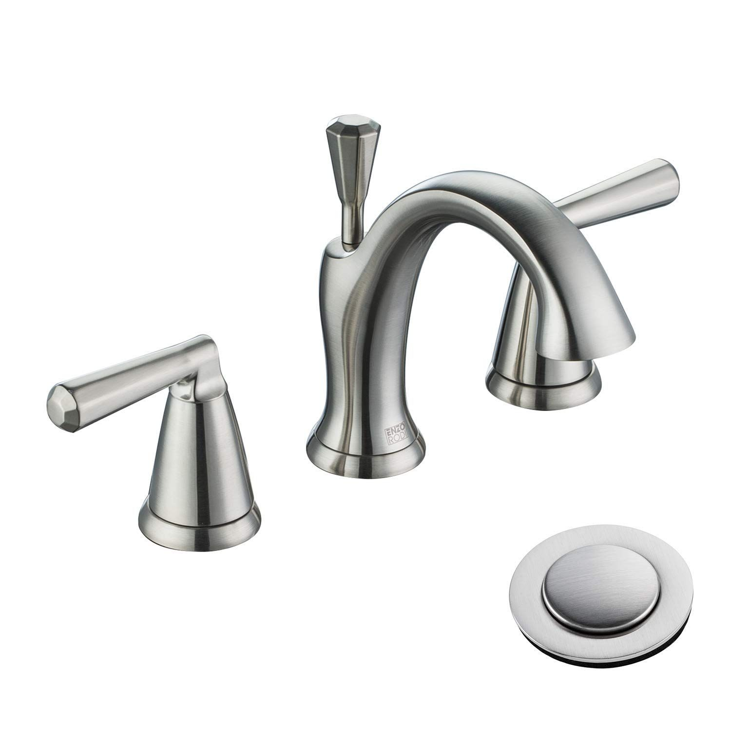 Enzo Rodi Two Handle Low Arc Solid Brass Widespread Bathroom Faucet With Ceramic Valve And Widespread Bathroom Faucet Bathroom Faucets Bathroom Faucets Chrome [ 1500 x 1500 Pixel ]