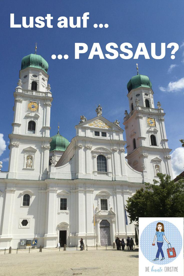 Dreiflussestadt Passau Sahnetortenhauser Und Die Grosste Orgel Der Welt Die Bunte Christine Passau Urlaub Bayern Reisen