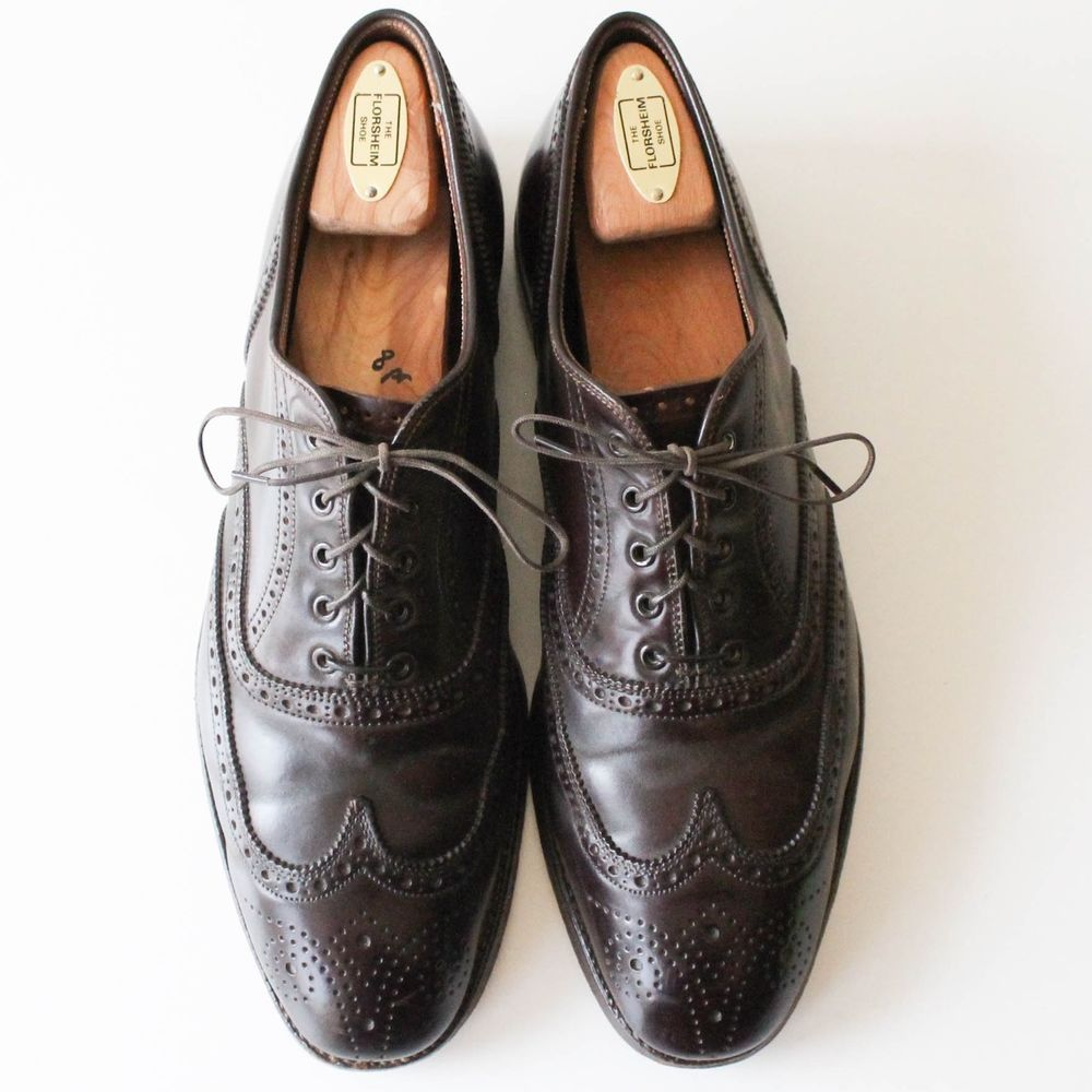 622647ba1ec TIMELESS Alden Brooks Brothers Shell Cordovan Balmoral Wingtip Oxford Shoes  9C #Alden #WingTip