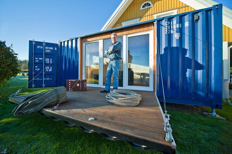 Pocketcontainer Wohnen im Containerhaus Eigenes haus