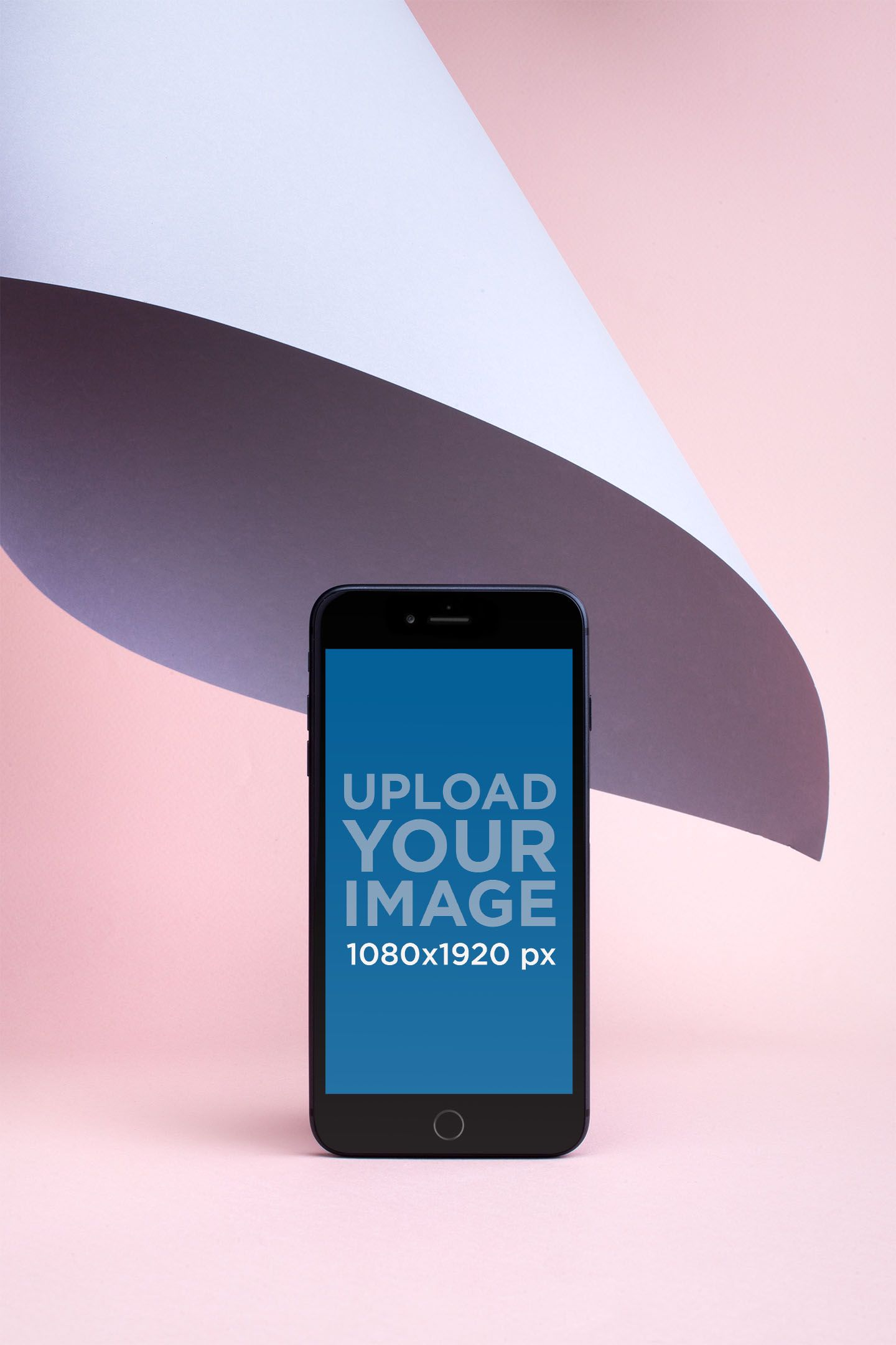 Download Placeit Iphone 8 Plus Mockup Surrounded By Pastel Tones Iphone 8 Plus Iphone Mockup Iphone