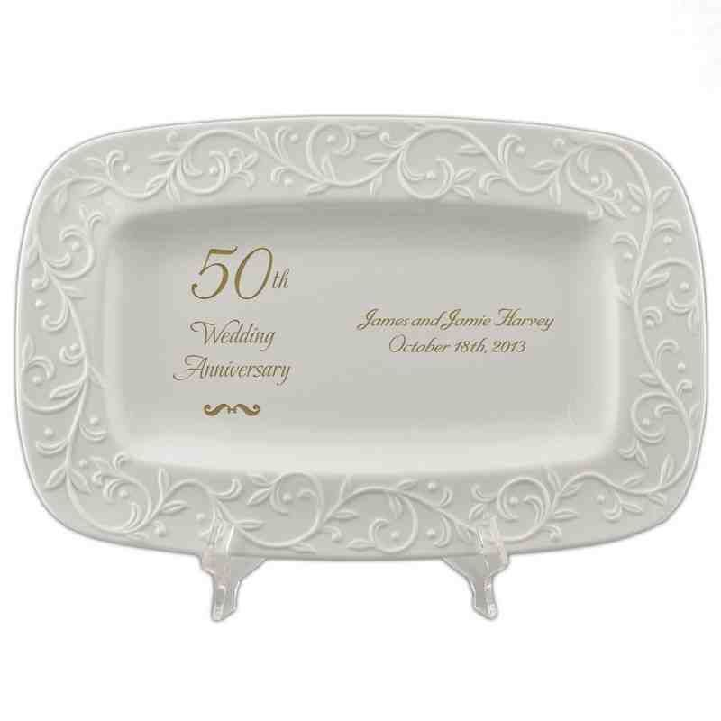 Gift Ideas For 50th Wedding Anniversary Present: Personalized 50th Wedding Anniversary Gifts