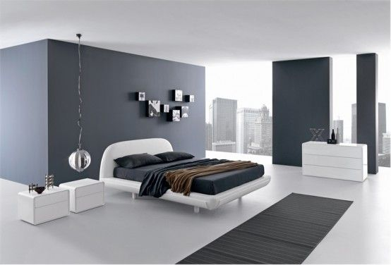 Minimalist Bed For Modern Bedroom Fusion By Presotto Interior Design