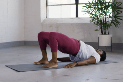 heart opening yoga poses to relieve shoulder tension
