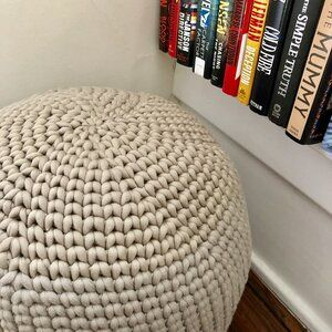 The Mia Ottoman — Counting Crafty Sheep
