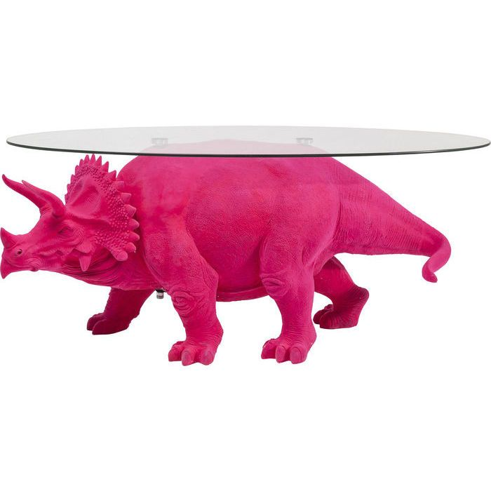 Coffee Table Dino Pink 125x46cm - KARE Design | Side Tables | Pinterest