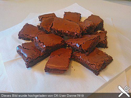 Amerikanische Brownies Amerikanische brownies, Brownies und - amerikanische kuche