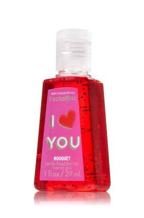 Bath And Body Works Red Hand Sanitizer Bouquet Pocketbac