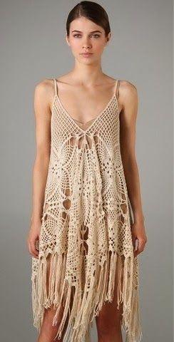 ad122417dd Pretta Crochet: Vestido de crochet | crochet | Robe crochet, Tricot ...