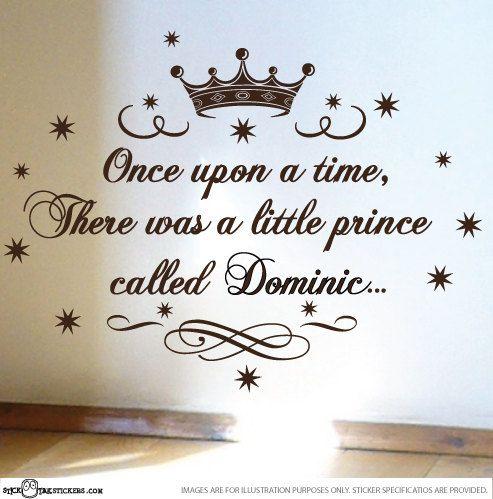 StickTak Stickers Little Prince Nursery Vinyl Rhyme Wall ...