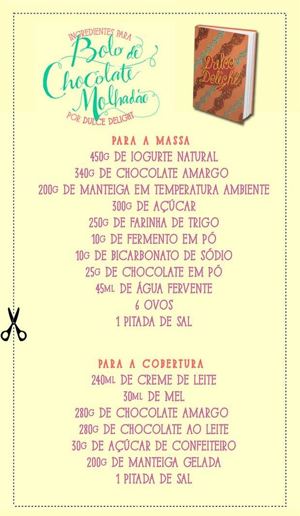 Leve para comprar tudinho no mercado para preparar essa receita deliciosa! (Foto: Arte: Gabi Freitas)