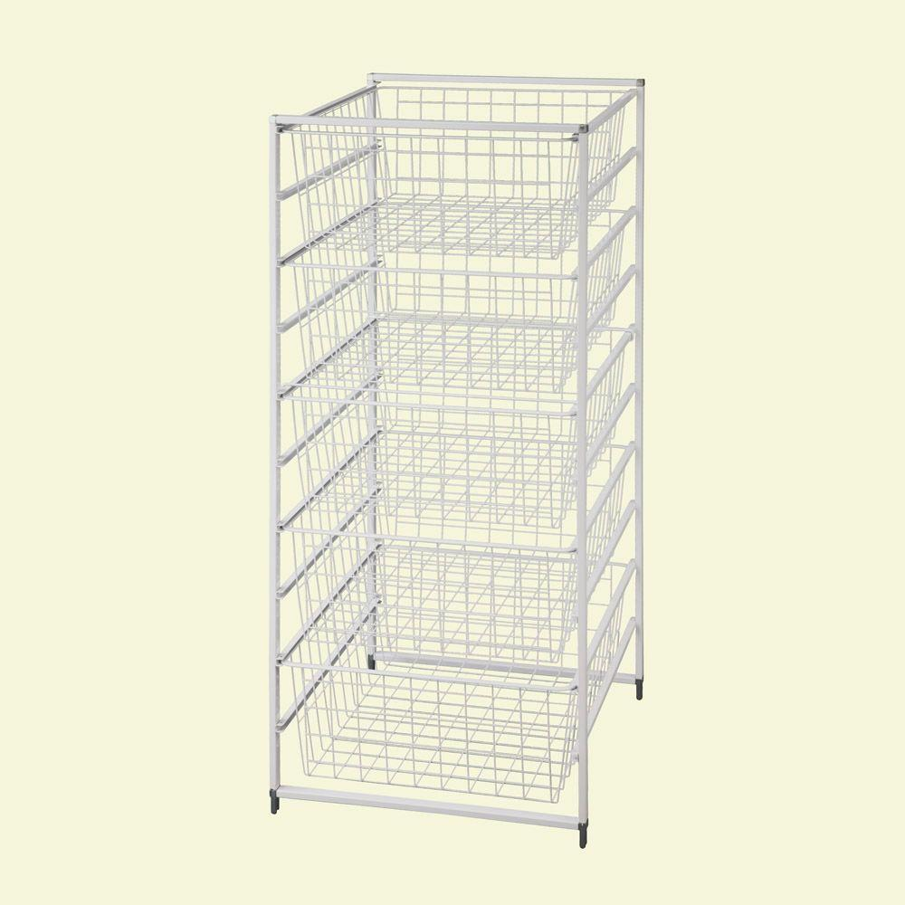 H Drawer Kit With 5 Wire Baskets