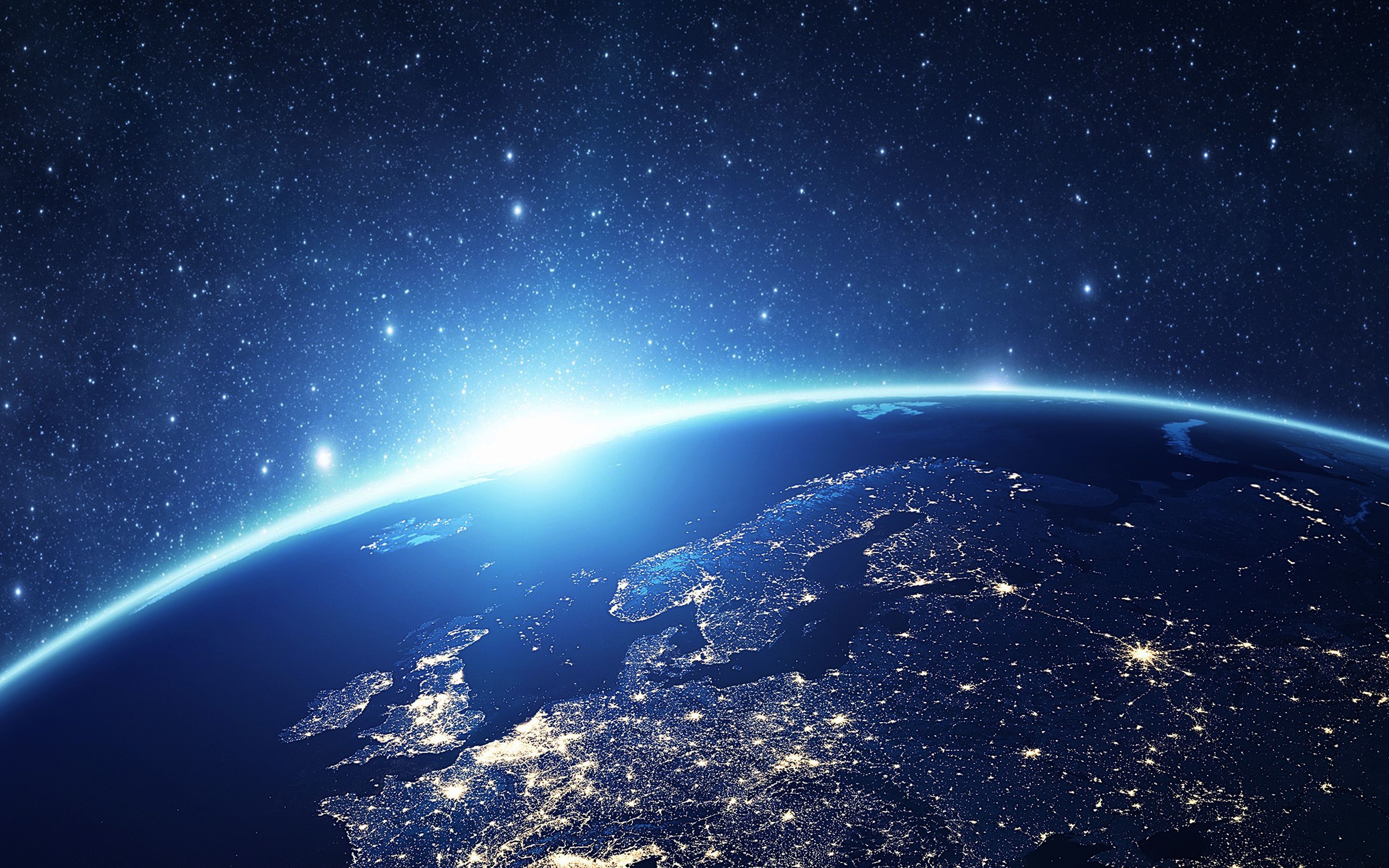 Papers Co Wallpaper Papers Co As24 Europe Earth Blue Space Night Art Illustration 36 3840x2400 4k Wallpaper Jpg Wallpaper Earth Moving Wallpapers Background