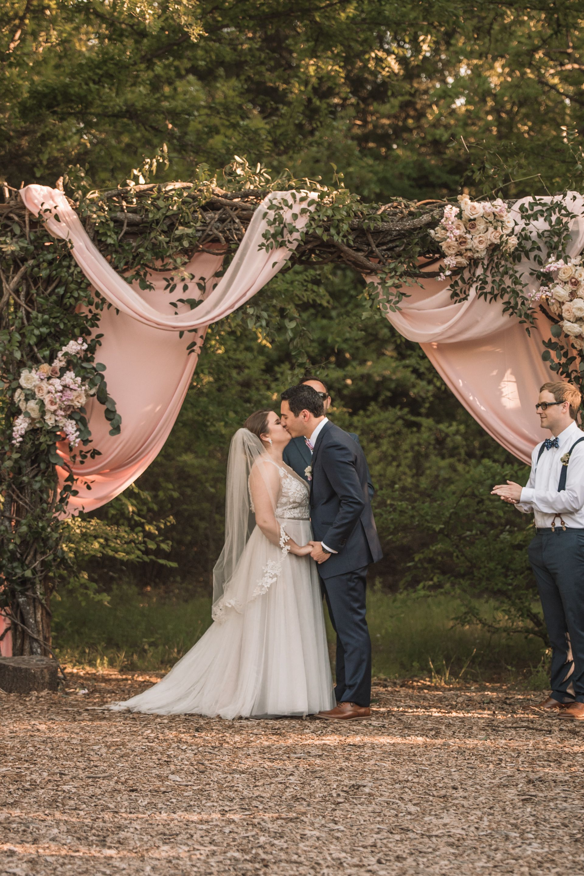 April wedding at The Grove in Aubrey, Texas! Miranda Marrs