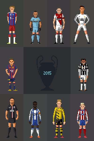 Football Pixelart On Behance In 2019 Pixel Art Polygon