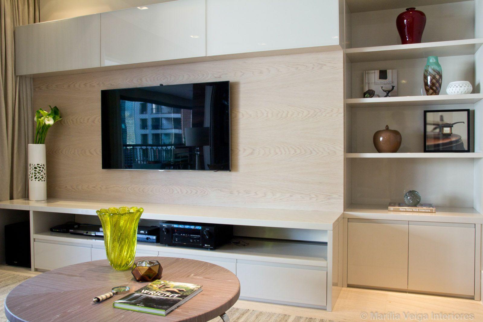 Modelo de rack com arm rio em cima da tv racks para home - Modelos de armarios ...
