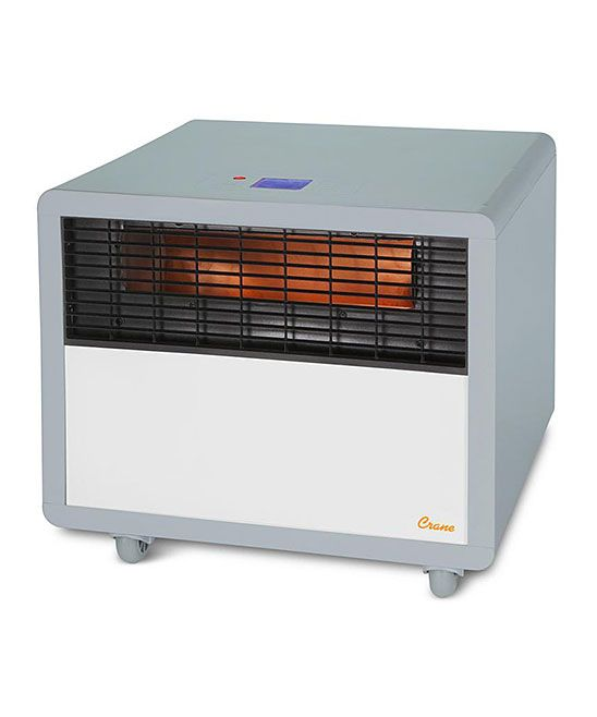 Gray Infrared Smart Heater Portable Space Heater Space Heater Infrared Heater