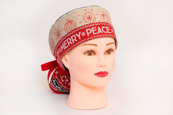 d0123dd9ba7 Rustic Home for the Holidays Boy Cap Ponytail Scrub Hat | Products ...